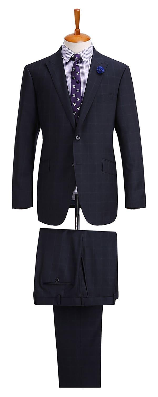 Мужской костюм из ткани Holland & Sherry