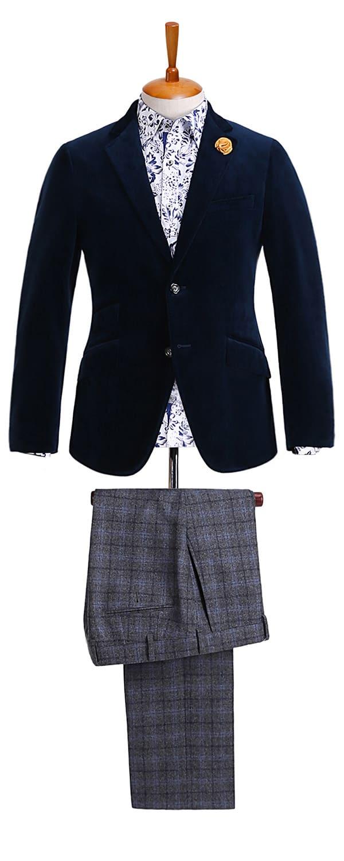 Мужской пиджак из ткани Scabal