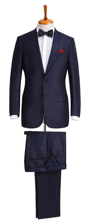 Мужской костюм из ткани Scabal