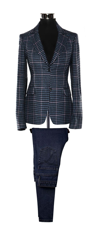 Женский пиджак из ткани Carne Selection