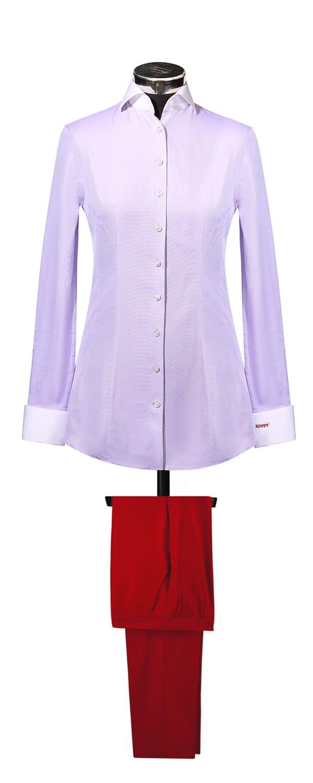 Сорочка из ткани Canclini