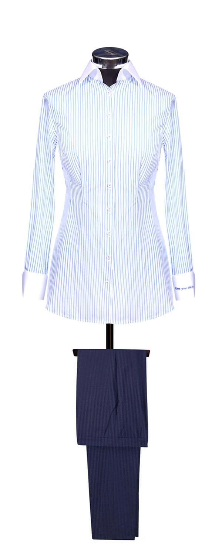 Сорочка из ткани Albini