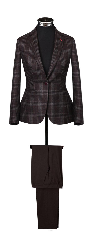 Женский пиджак из ткани Cerruti