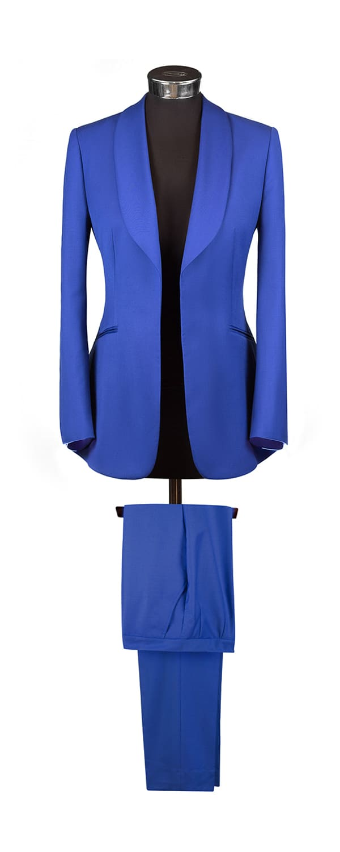 Женский костюм из ткани Holland & Sherry