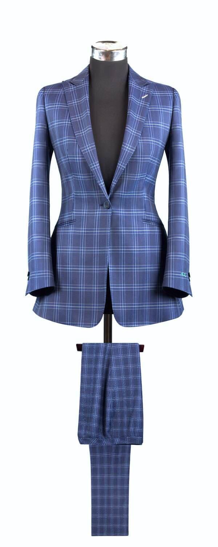 Женский костюм из ткани Vitale Barberis Canonico
