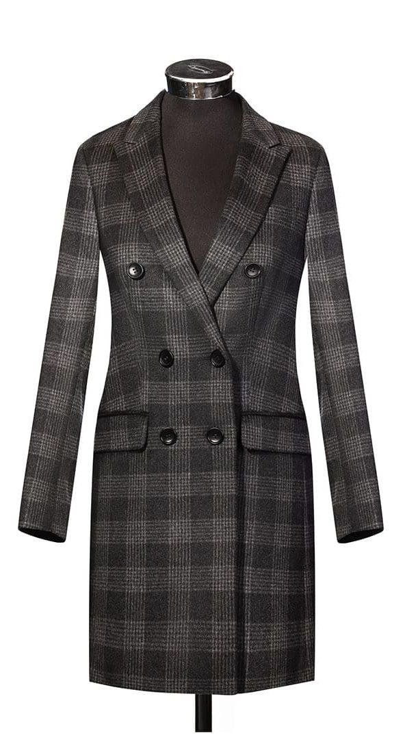 Женское пальто из ткани Carne Selection